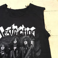 [USED] DESTRUCTION cutoff  sleeveless Tee