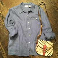 [USED] BOXシルエットの リネンシャツ