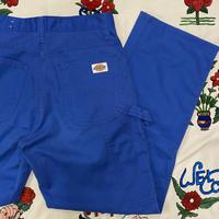 [USED] 70's  Dickies BLUE PAINTER PANTS