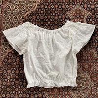 [USED] WHITE cottonチュニック