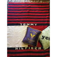 [USED] TOMMY HILFIGER 大判 ラグ 125cm×200cm