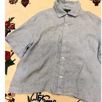 [USED]  バナリパ! LINENキューバシャツ