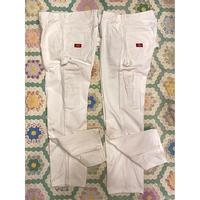 [USED] Dickies WHITE PAINTER PANTS!