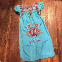 [USED] メキシコ 刺繍ワンピース