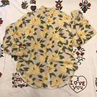 [USED] おしゃれ〜花柄レーヨンシャツ