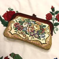 [USED] ゴブラン織り クラッチBAG