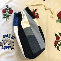 [NAFF] NAFF パッチワーク 巾着BAG