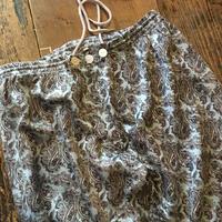 [USED] ペイズリー柄 vintage パジャマパンツ