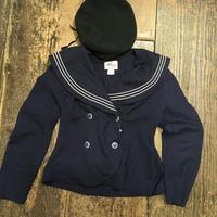 [USED] LINEN♡ セーラー JKT