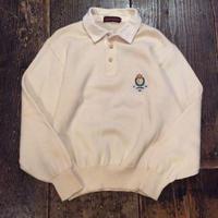 [USED] Ralph Lauren 襟付きセーター