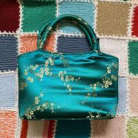 [USED] チャイナ!グリーンのハンドバッグ