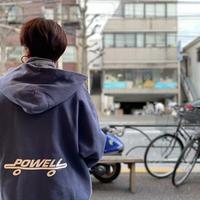 [USED]  90's vintage POWELL  SWEAT PARKA