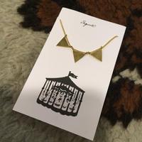 [Aquvii] ▽▽▽ ペナント ネックレス