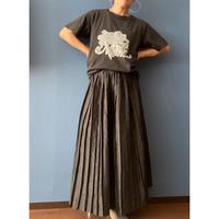 [USED] vintage BLK プリーツスカート