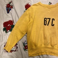 [USED] 50-60's VINTAGE  SWEAT(染み込みプリント)