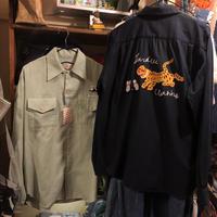 [I&ME]  レーヨン Bowling Shirts
