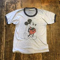 [USED] Mickey♡ リンガー Tee