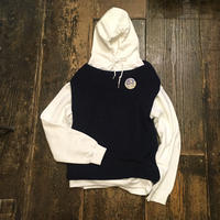 [USED] お洒落な形 NAVY Knit Best