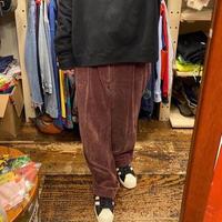 [USED] 太畝コーデュロイ PANTS 小豆色