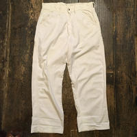 [USED] Vintage  COTTON ペインターパンツ WHITE