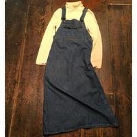 [USED] デニムジャンパースカート