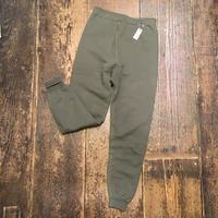 [DEADSTOCK!] フランス軍 カーキ色 SWEAT PANTS