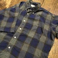 [USED] vintage 渋色チェックシャツ