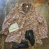 [USED] ゴブラン織りレオパードコート