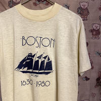 """[USED] 80's """"BOSTON"""" Tee♡"""