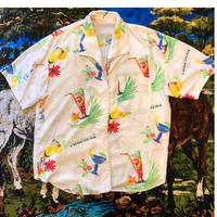 [USED] TROPICAL アロハシャツ