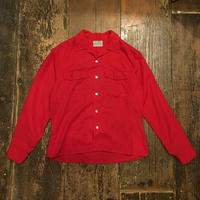 [USED] Vintage!RED!オープンカラーシャツ
