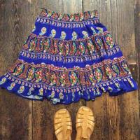 [USED] レーヨン 花柄スカート