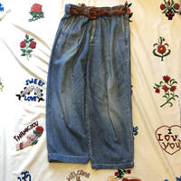 """[USED] """"POLO COUNTRY""""  2タック DENIM PANTS"""