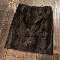 [USED]レオパード柄 タイトスカート