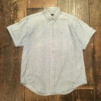 [USED] Ralph Lauren デニム半袖シャツ