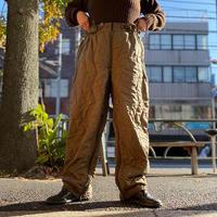 [USED] ドイツ軍  キルティング OVER PANTS
