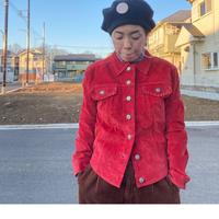 [USED] 赤い❤️スエード ジャケット