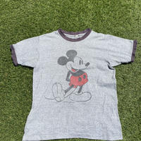 [USED] Vintage Mickey トリムTee [GRY/BLK ]