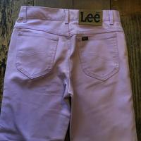 [USED] vintage  Lee カラーパンツ
