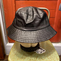 [SELECT] FAKE LEATHER BUCKET HAT!