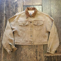 [USED] BROWNショート丈Denimジャケット