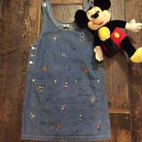 [USED] Disneyキャラたくさんジャンパースカート