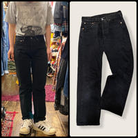 [USED] Levis 501 BLACK/ MADE IN U.S.A.