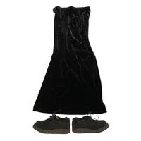 [USED] ブラックベロアスカート