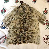 [USED] EURO Vintage レーヨン TIGER SHIRTS