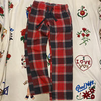 [USED] ESPRIT ネルCHECK パジャマパンツ