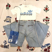 [USED] adidas  ちびSIZE ロゴTee ♡