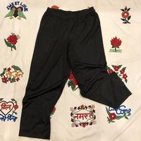 [USED] BLACK POLY PANTS