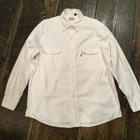 [USED] Levi's WHITE cottonシャツ