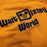 [USED] VINTAGE  Walt Disney World  S/S  SWEAT🏰